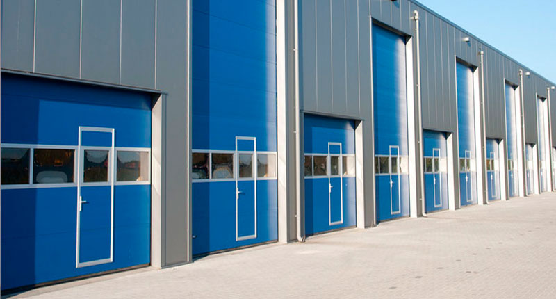 Puertas industriales puertas de garaje for Puertas industriales
