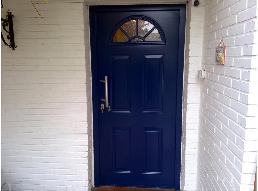 Puerta de seguridad de acceso a vivienda torrelodones - Puertas para viviendas ...