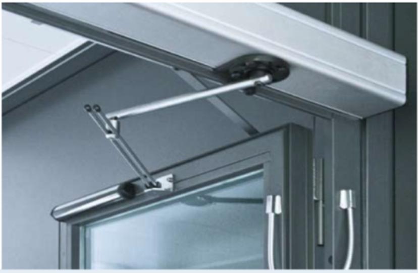 Motores para puertas batientes puertas de garaje - Mecanismo puerta garaje ...